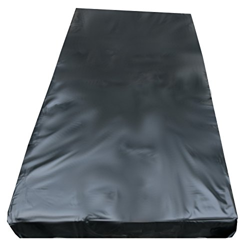 eXODA Inkontinenzlaken Unterlaken Matratzenauflage schwarz 160x200 cm Inkontinenzauflage Inkontinenz-Bettlaken Spannbettlaken auch für Kinder