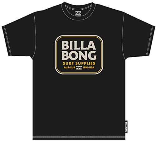 BILLABONG Jackson SS Camiseta, Negro (Black 19), One Size (Tamaño del Fabricante: M) para Hombre