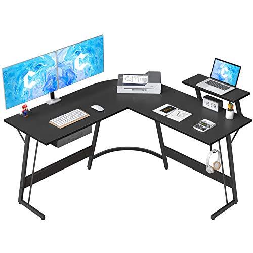 CubiCubi L-Shaped Desk Computer Corner Desk, 50.8' Home Gaming Desk, Office Writing Study...
