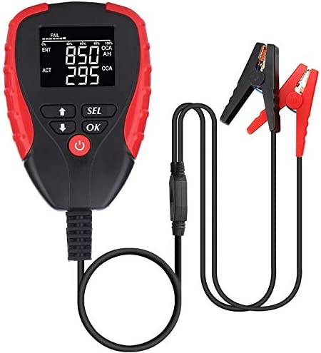 QWERTOUR Digital 12V Car Battery Tester Automot OFFicial mail order Ah with Pro Max 58% OFF Mode