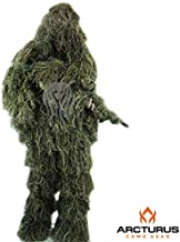 Arcturus Ghost Ghillie Suit | Dense, Double-Stitched Design | Superior Camo Hunting Clothes for Men, Hunters, Military, Airsoft Sniper