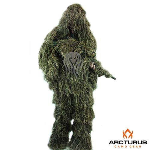 Arcturus Ghost Ghillie Suit | Dense, Double-Stitched Design...
