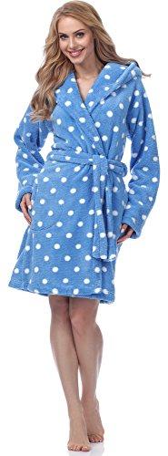Merry Style Bata Ropa de Casa Lenceria Mujer MSFX983 (Gris, XL)