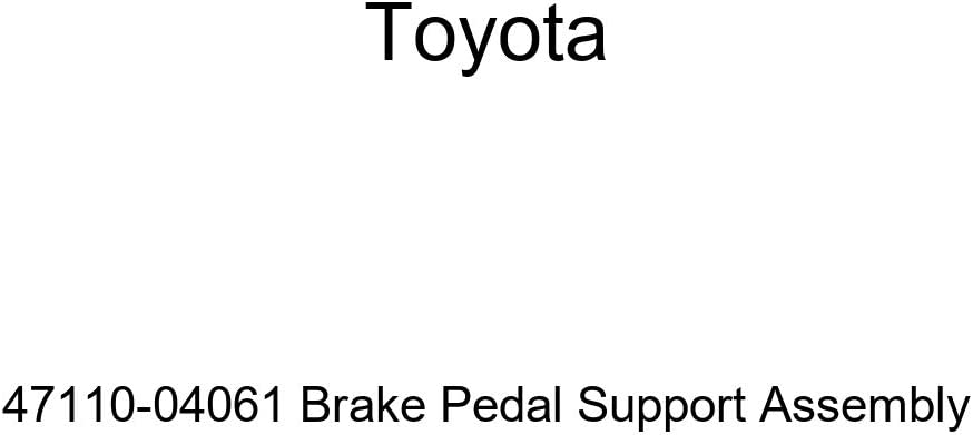 lowest price TOYOTA Genuine 47110-04061 Brake Assembly Pedal Our shop OFFers the best service Support