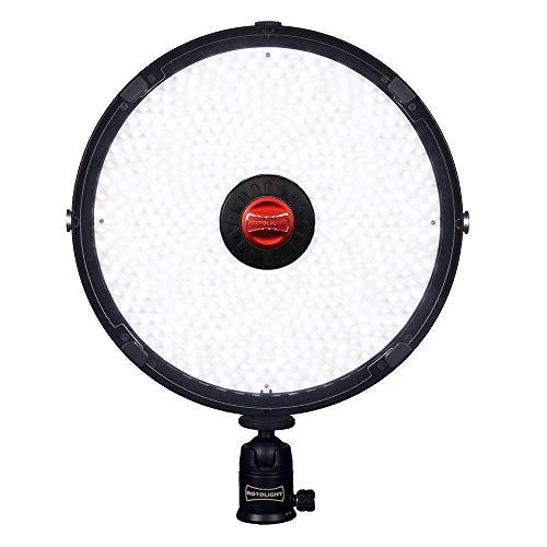 Rotolight RL-AEOS Negro unidad de flash para estudio fotográfico (295 mm, 295 mm, 20 mm, 1,4 kg)