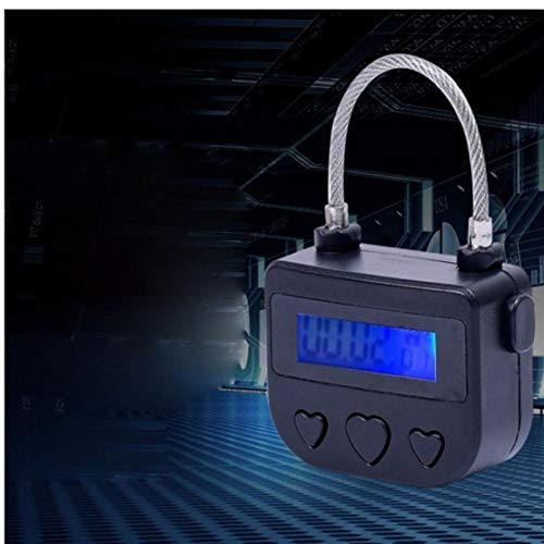 Casecover Elektronische Selbstfesselung USB Aufladbare Time Out Padlock Mit LCD-Display