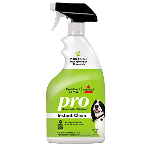 Bissell Pawsitively Clean Pro Pet Stain & Odor Eliminator Instant Clean, 32oz, 2186