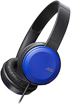 JVC Foldable On Ear Colorful Lightweight Headband With Mic