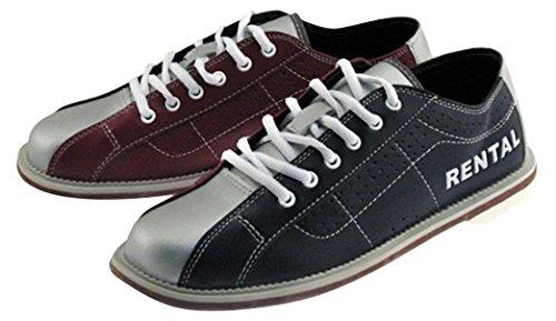 Bowlerstore Classic Herren Rental Bowlingschuhe, 16US M, blau/rot/Silber
