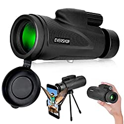 cheap Low Night Vision Monocular Telescope-Evershop High Performance Monocular for Adults and Kids …