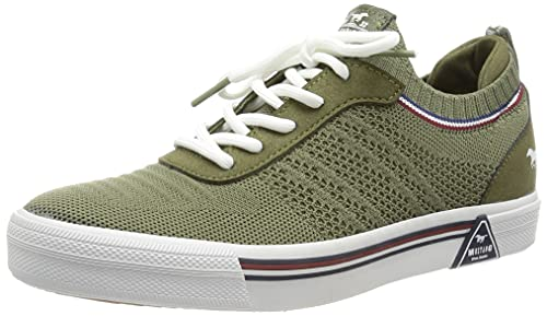 MUSTANG Damen 1381-301 Sneaker, oliv, EU