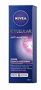 NIVEA Cellular Perfect Skin Serum Esencia Nocturna (1 x 40 ml), sérum de noche, sérum antimanchas, sérum facial antiedad para reducir las arrugas y las decoloraciones