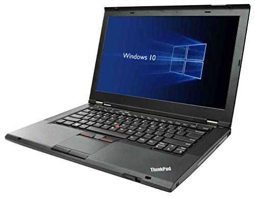 Lenovo T430 (14in Laptop) [Intel Core i5 3320M 2.60GHz, 8GB Memory, 240GB SSD, DVDRW] with Windows 10 Professional (Renewed)