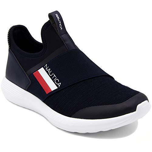 Zapatillas Deportivas de Hombre Nautica de Color Azul Marino con una Cinta 43.5 EU