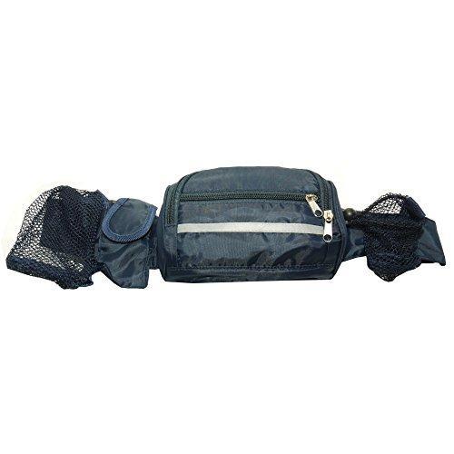 OEM Creative Regenresistente Gürteltasche mit verdeckter Jacke (Einheitsgröße) (Schwarz)