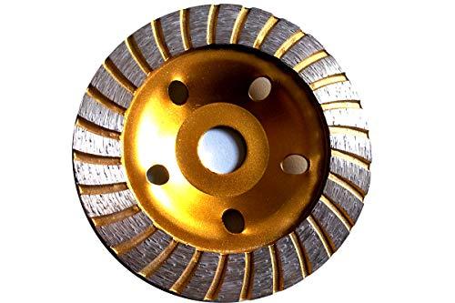 Diamantschleifteller Schleifscheiben Ø 115-230 mm 22.23mm Loch Schleiftopf mit Turbo Zahn (Turbo Zahn DM 180 mm)
