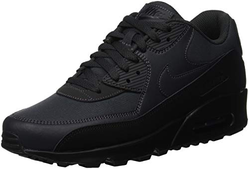 Nike Air Max 90 Essential, Chaussures de Running Compétition Homme, Noir (Black/Anthracite 009), 40.5 EU
