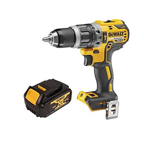 DeWalt DCD796N 18v XR Brushless Combi Drill with 1 x 4Ah DCB182 Battery