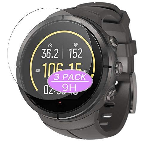 Vaxson Protector de pantalla de cristal templado, compatible con Suunto Spartan Ultra Titanium smartwatch Smart Watch, protectores de película 9H