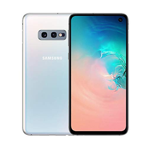 "Samsung Galaxy S10e Smartphone, Display 5.8"", 128GB, Dual SIM, Bianco"
