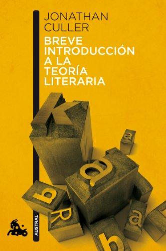 Breve introducción a la teoría literaria (Contemporánea)