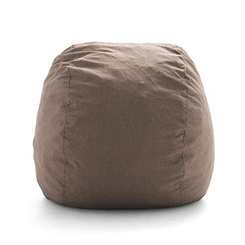 Big Joe Large Fuf Pecan Union Foam Filled Bean Bag