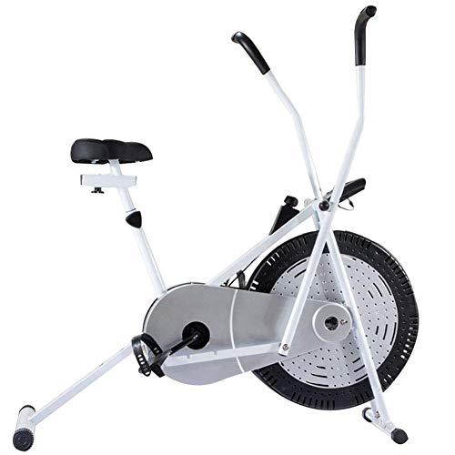 D&XQX La Bicicleta estática para Uso doméstico de Acero Inoxidable Cubierta de Formación Bicicleta estática, la Resistencia de Velocidad, Bajar de Peso Equipos Fitness Sport Trainer Ciclo de la Bici