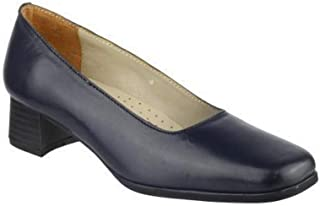 Amblers Walford Ladies Leather Court/Womens Shoes