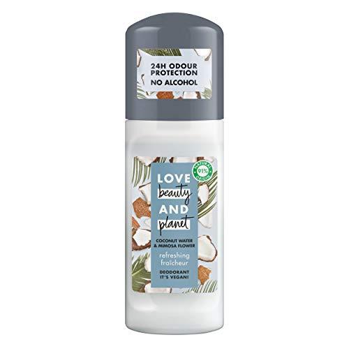 Love Beauty and Planet Refreshing Desodorante agua de coco & flor de mimosa 50ml