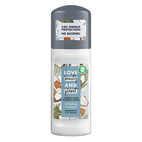 Love Beauty and Planet Refreshing Desodorante agua de coco & flor de mimosa 50ml