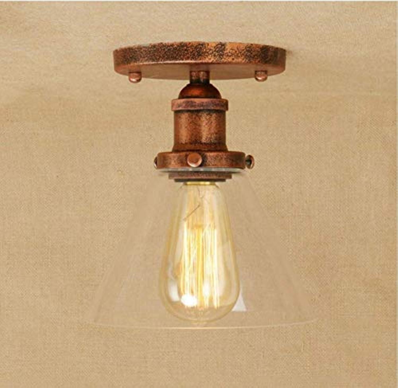 Hall Foyer Gallery Küche Deckenbeleuchtung Eisen Glas Lampe