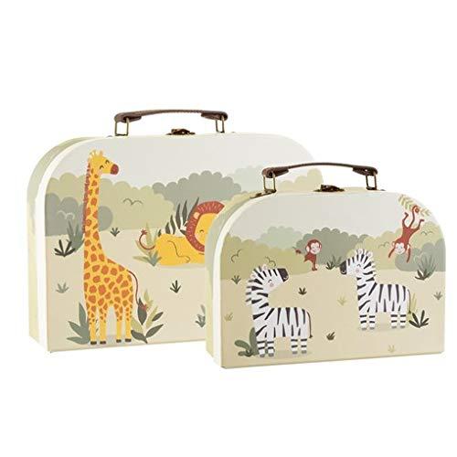 Sass & Belle Savannah Safari koffers - Set van 2