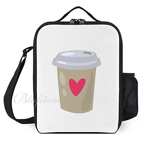 Bolsas de almuerzo aisladas para niños, con soporte para botellas, café, moderno, grande, para hombres, adultos, reutilizable, para el trabajo, escuela, picnic,