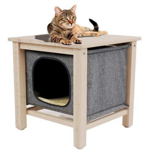 CROCI CUBE DESIGN, Cuccia Gatti, Cestino per gatti, Cat House, Dimensioni 50x50x50cm