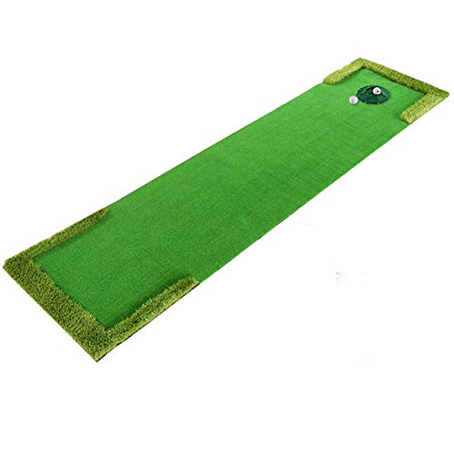 JU FU Outdoor-Sportarten Golf Schlagen Pad Putter Übungsmatte Übungsdecke mit Loch @@ (Color : B)