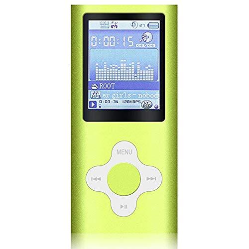ZUEN MP3-Player-Mini Student Card Walkman Mp3 Kommt Mit Speicher Sieben Equalizer MP3 Für Outdoor-Sport, Morgenarbeit