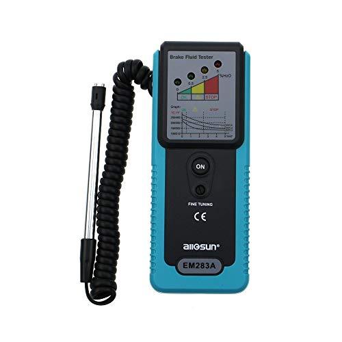 EM283A Auto Bremsflüssigkeit Tester Fahrzeug Bremsflüssigkeit Testing Tool Handheld Truck Bremsflüssigkeit Tester Multimeter Digital Tester