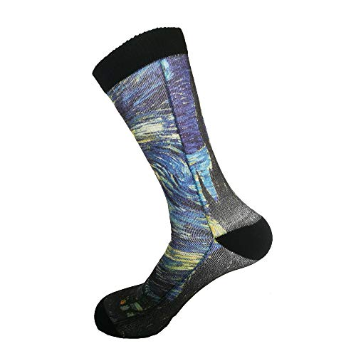Product Image 4: Happy Camper Unisex Adult Fun Cool 3D Print Colorful Athletic Sport Novelty Crew Tube Socks