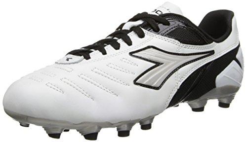 Diadora Soccer Men's Maracana L Soccer Cleat,White/Black,7 M...