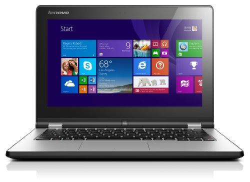 Lenovo Yoga 2-11 - Ultrabook convertible (29,5 cm (11,6 pulgadas HD LED) (Intel Celeron N2930, 2,16 GHz, 4 GB de RAM, 500 GB de disco duro, Intel HD Graphics, pantalla táctil, Win 8.1), color negro