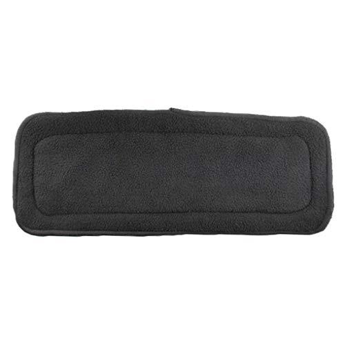 Boburyl Lavable Respirable Absorbente de Fibra de carbón de bambú del pañal de Bolsillo de la Cubierta del Abrigo de los panales