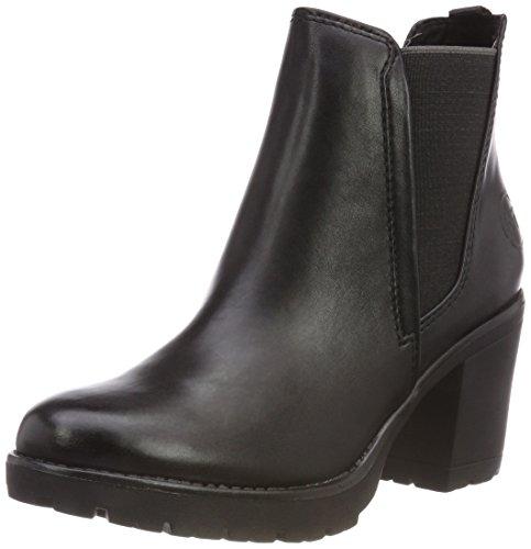 MARCO TOZZI Damen 25414-31 Chelsea Boots, Schwarz (Black Antic 002), 41 EU