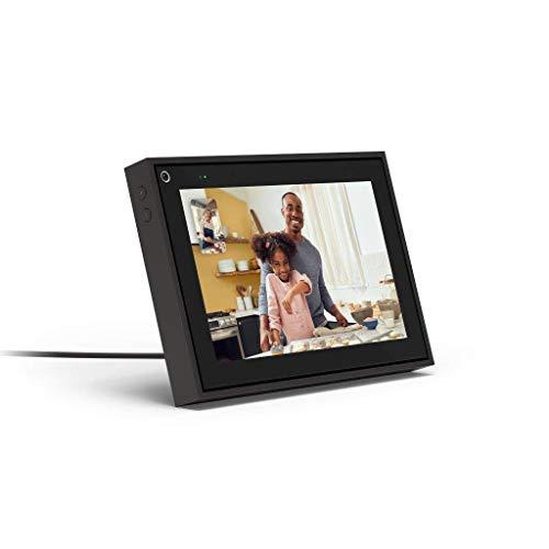 "Facebook Portal Mini - Smart Video Calling 8"" Touch Screen Display with Alexa - Black"