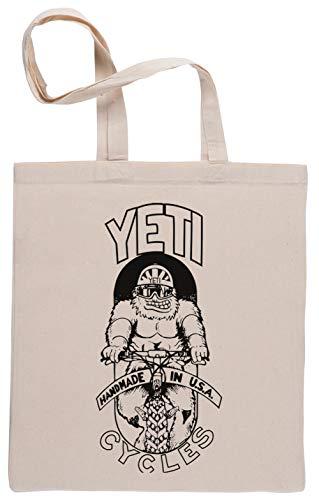 Yeti Cycles Bolsa De Compras Shopping Bag Beige
