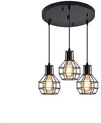 Lámpara de techo de estilo rústico, estilo retro, vintage ...