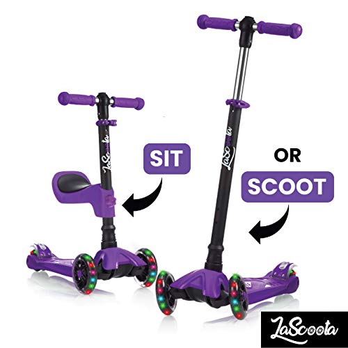 Product Image of the 2-in-1 Kick Scooter