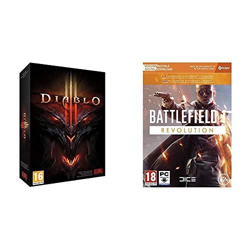 ACTIVISION Diablo III + Electronic Arts Battlefield 1 Edicion Revolution (La caja contiene un codigo de descarga Origin)