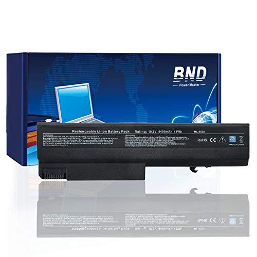 BND Li-Ion-Laptop-Akku für HP 8440P 6930P 8440W ProBook 6550B 6455B Compaq 6730B 6735B 6530B für P/N 482962-001 HSTNN-UB69 KU531AA - 12 Monate Garantie