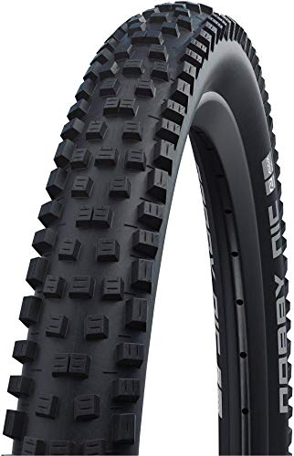 Schwalbe Nobby Nic Neumáticos para Bicicleta, Unisex Adulto, Negro, Talla única
