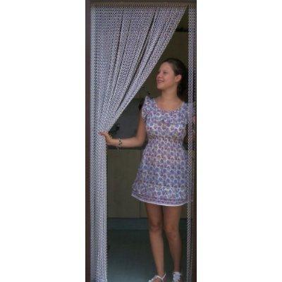 Holland Plastics UK Limited- Kettenvorhang aus Aluminium/Sichtschutz/Insektenschutz- 100 cm breit